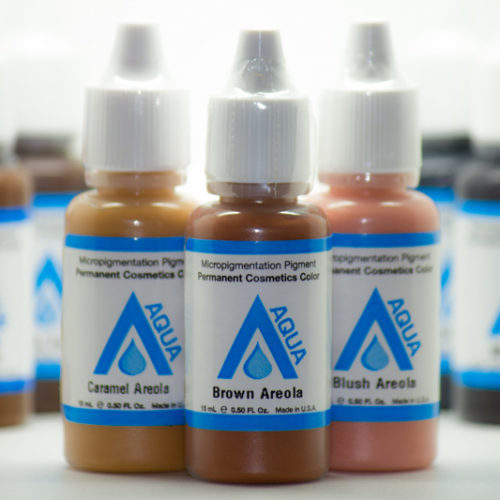 permanent cosmetic pigments Areola & Skin Colors front