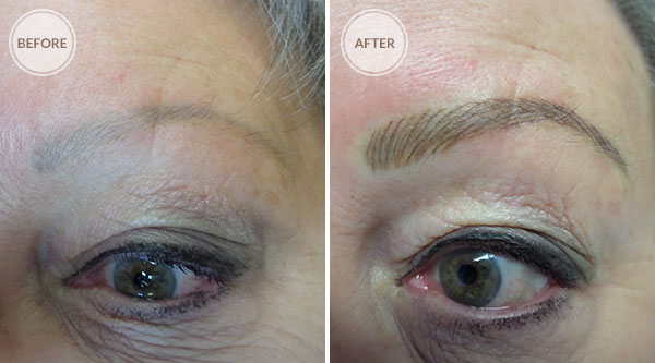 3D Eyebrows Coverup Permanent Makeup