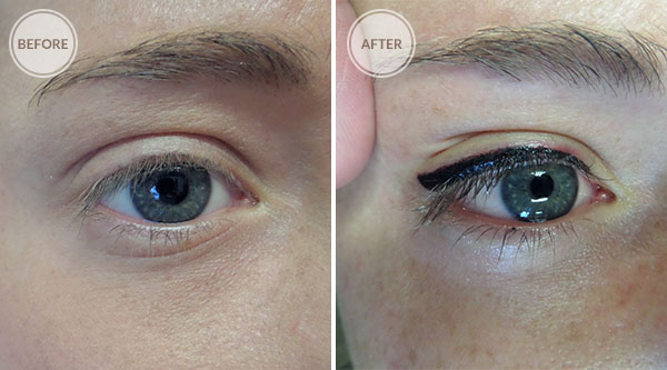 Thick Eyeliner Permanent Makeup