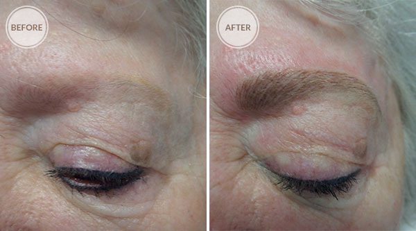 3D Eyebrows Permanent Makeup - Fair Eyebrows