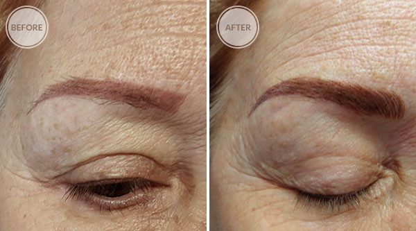 3D Microblade Eyebrows Permanent Makeup Correction