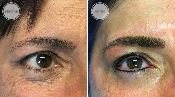 3D Microblade Eyebrows and Eyeliner Permanent Makeup