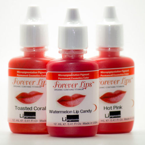 Forever LIps permanent cosmetic makeup pigments - Front