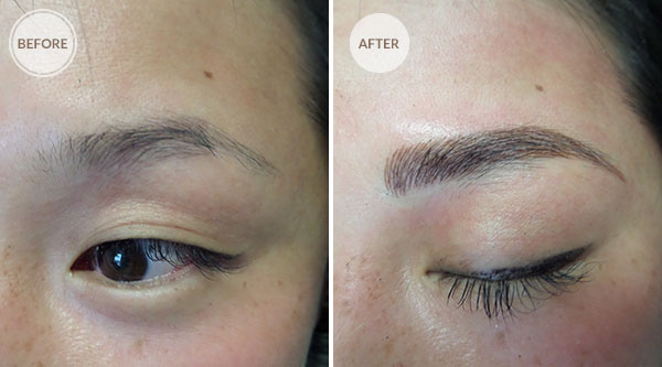 3D Microblade Eyebrows Permanent Makeup